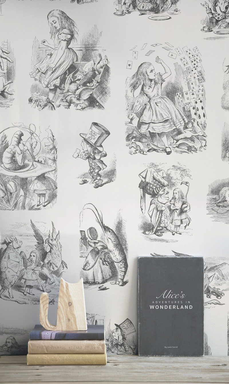wallpaper alice im wunderland