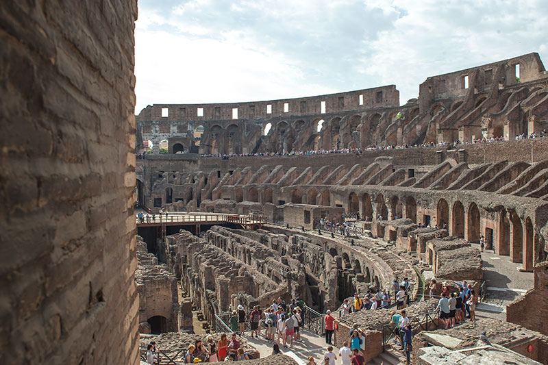 kolosseum rom mit kind