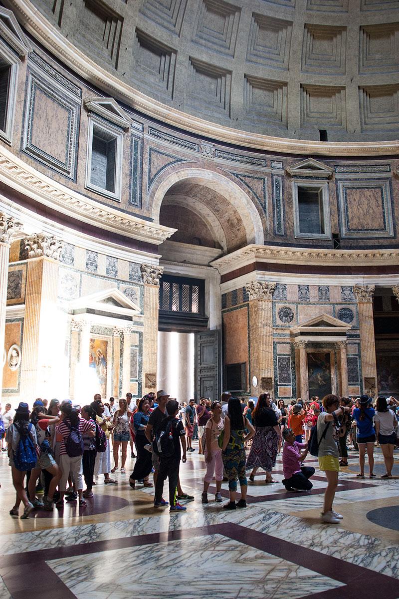 pantheon rom mit kindern