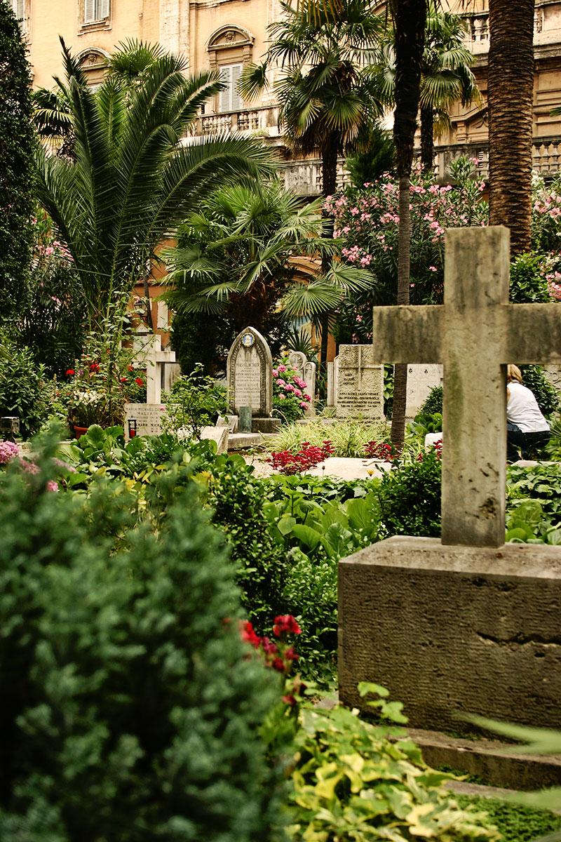 Rom Reise Tipps Deutscher Friedhof