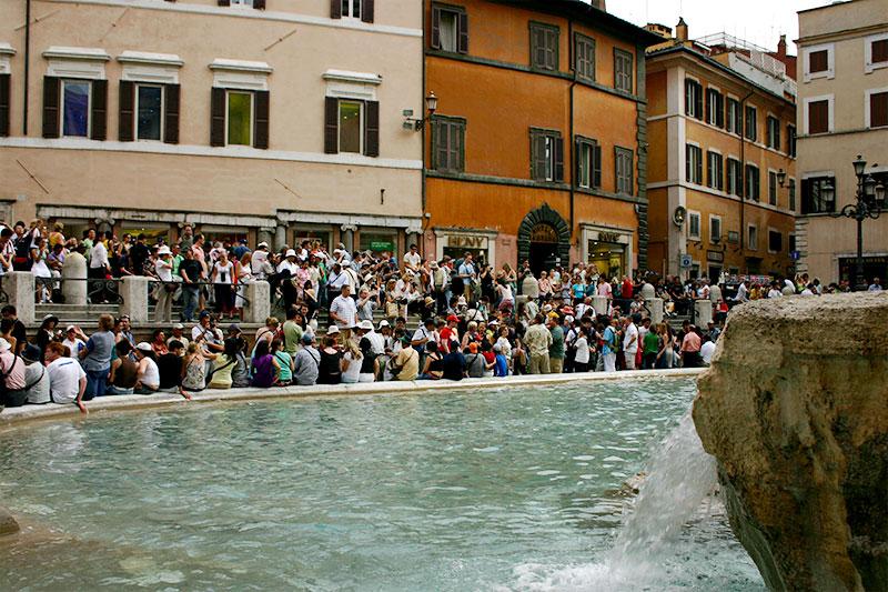 Rom Reise Tipps Trevi Brunnen