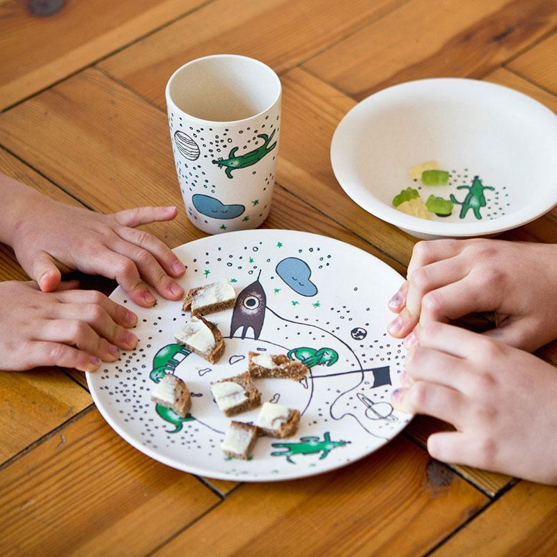 Schön oder - Design für Kinder - Geschirr
