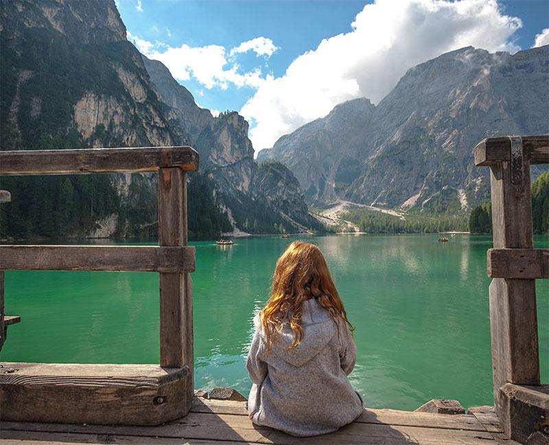 Urlaub in Südtirol - Pragser Wildsee