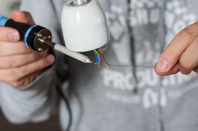 DIY Lampe selbermachen