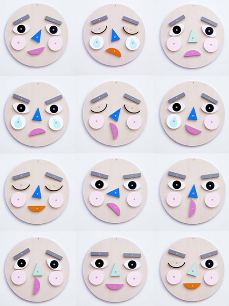 moon picnic - make a face