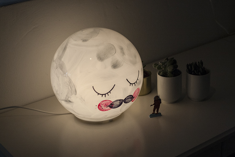 mr moon lampe selbst gemacht