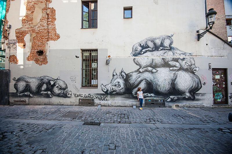 streetart ROA bruessel