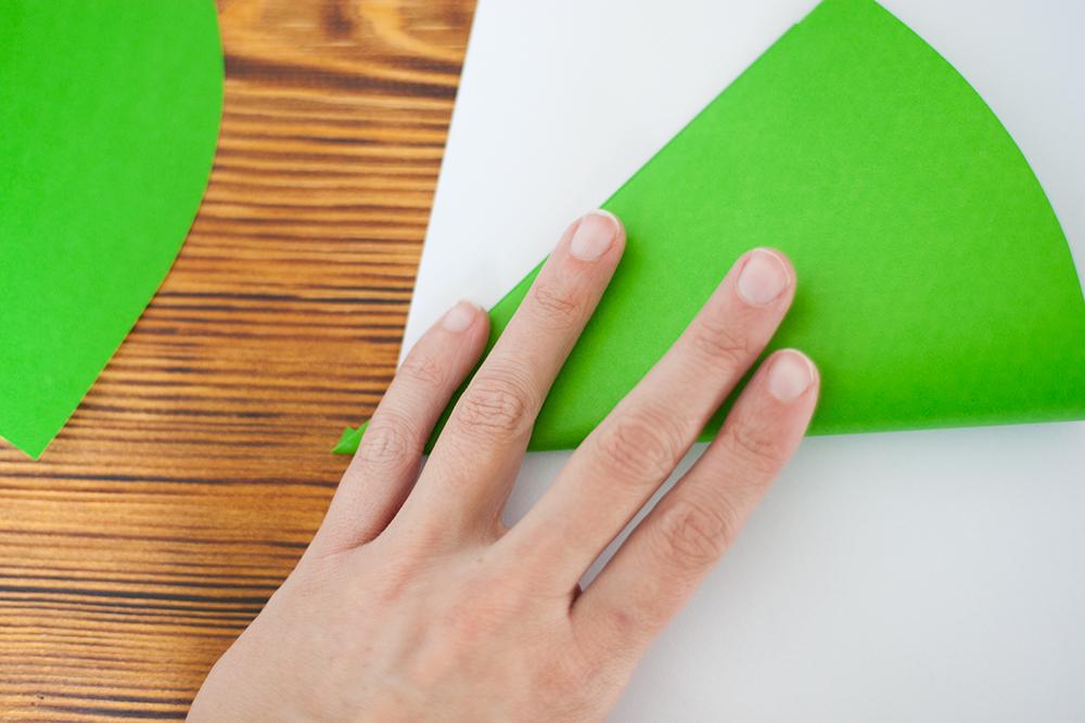 bäume aus papier