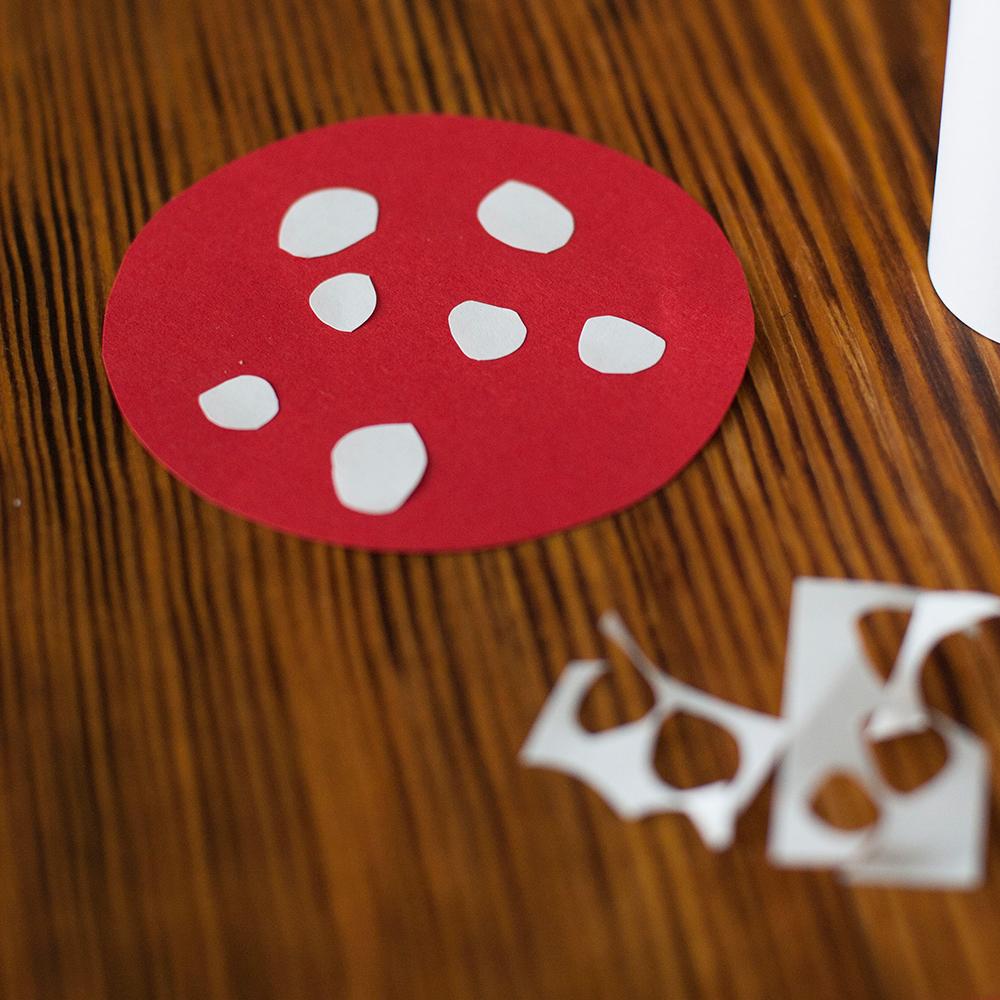 pilz aus papier