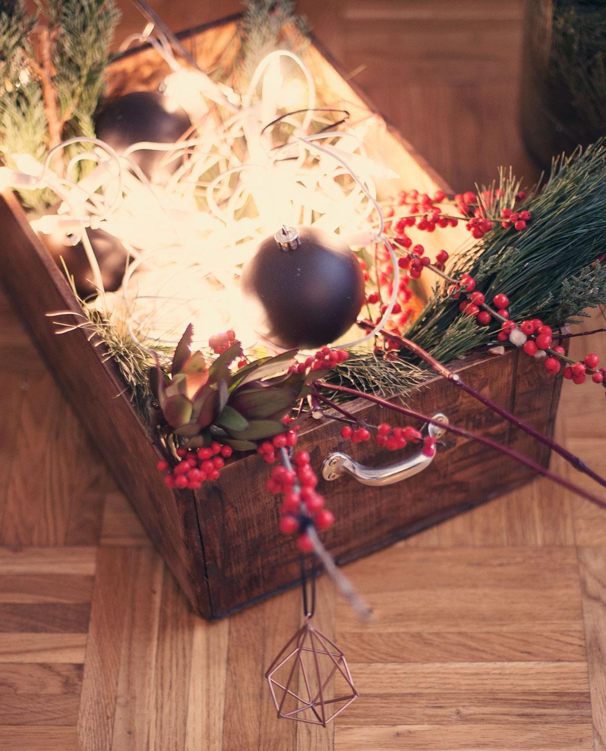 schnelle weihnachtsdekoration
