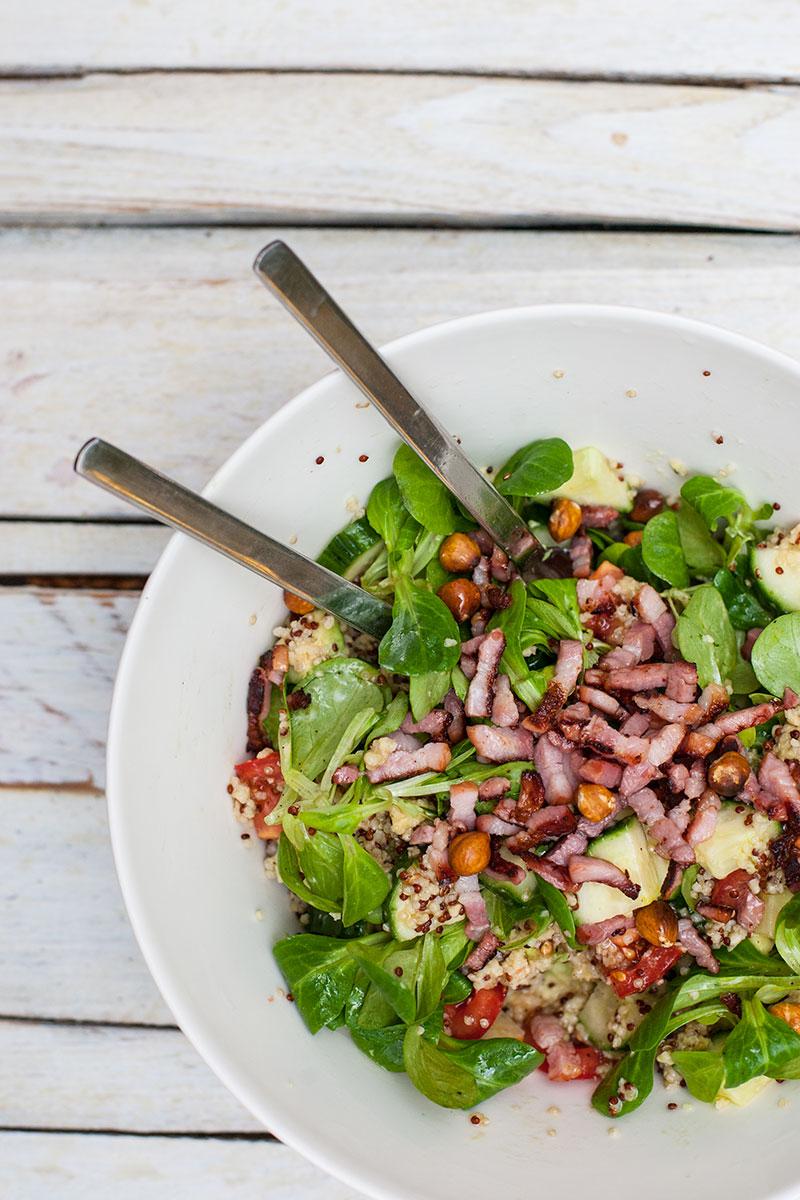 quinoa salat rezept