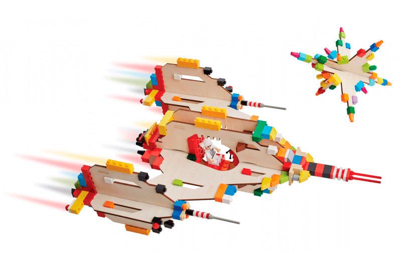 brikkon spaceship Lego-Erweiterung