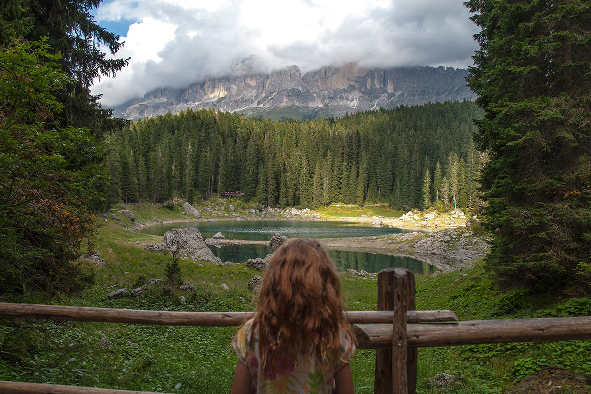 familienurlaub in Südtirol karersee