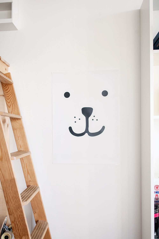 kleine kinderzimmer ideen poster