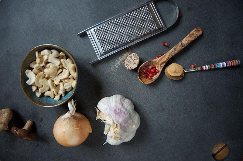 rezept gemuesenudeln cashew-trueffel-sosse