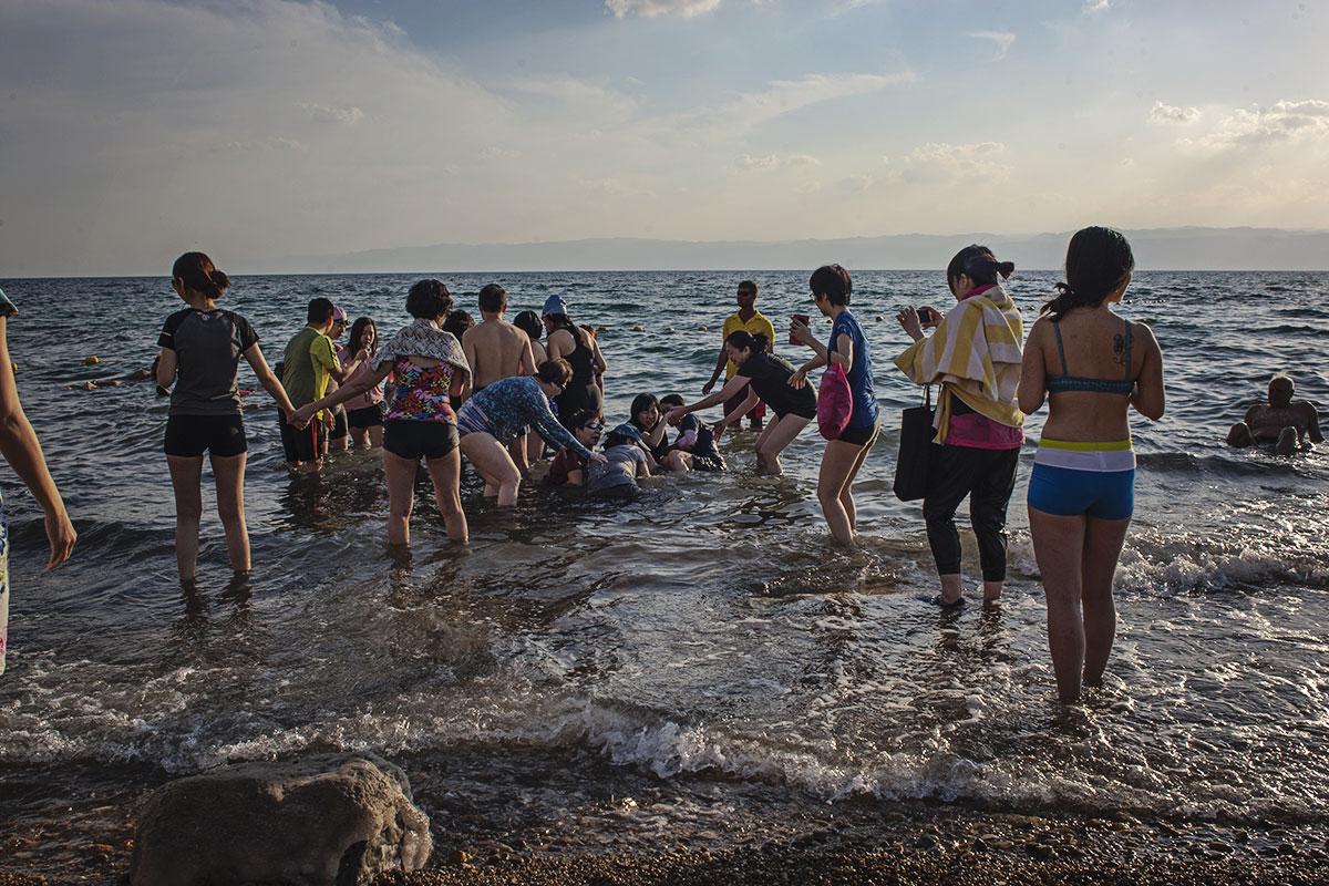 mit kindern nach jordanien reisen totes meer