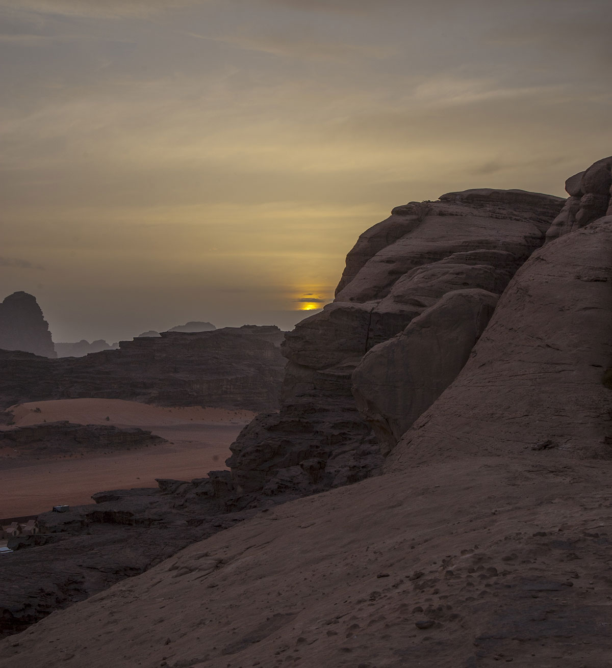 mit kindern nach jordanien reisen wadi rum desert camp sundowner