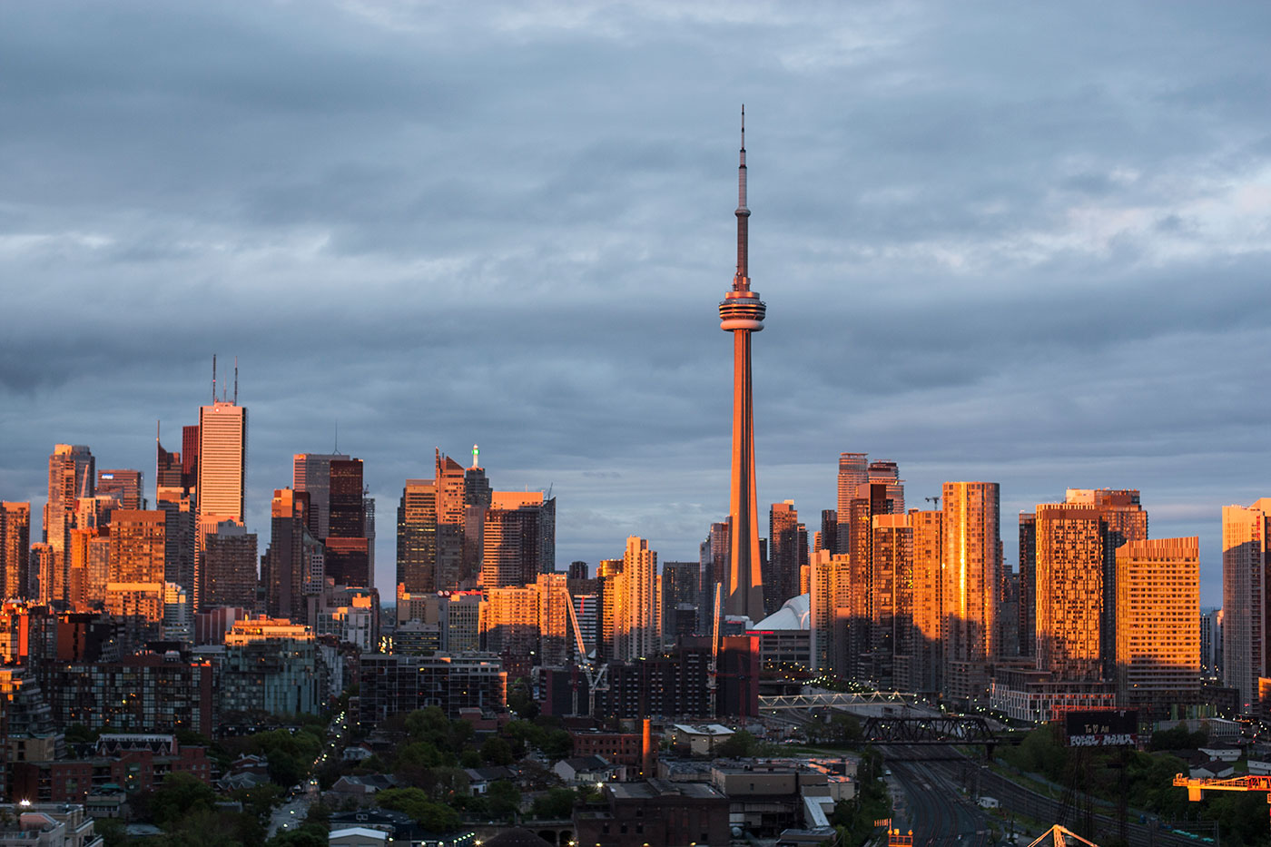 Toronto CN Tower View