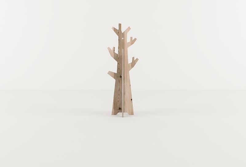 wooden spaces kids wardrobe