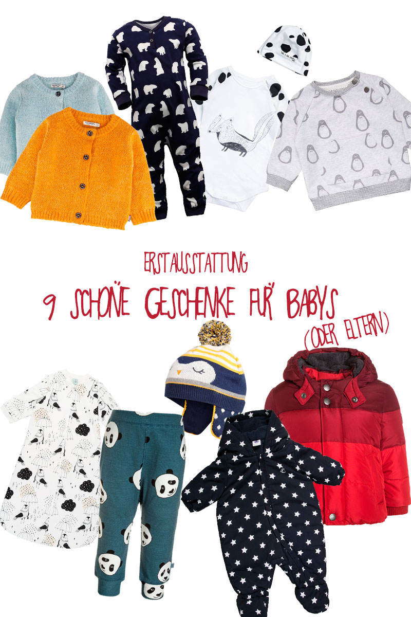 babyaustattung geschenke