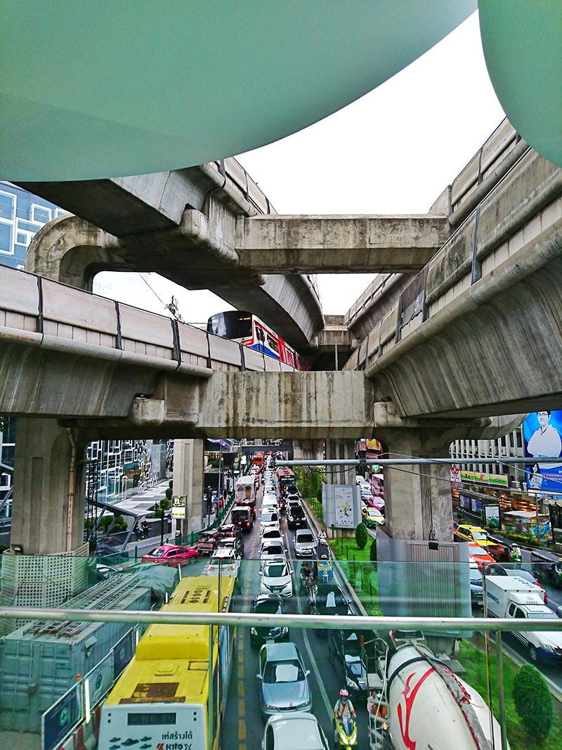verkehr bangkok