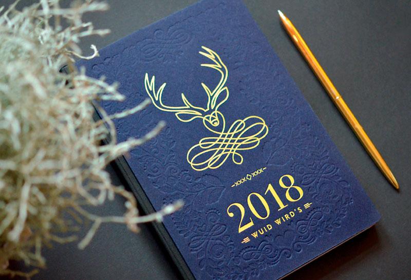 Kalender cover 2018