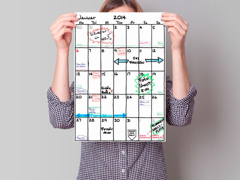 familien kalender 2018