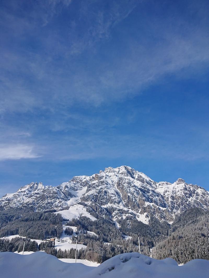urlaub im schnee leogang