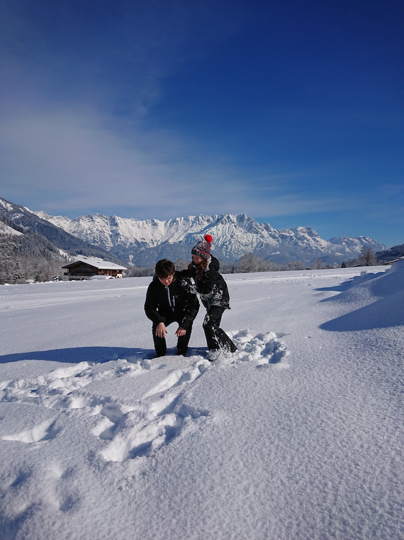 urlaub im schnee wandern