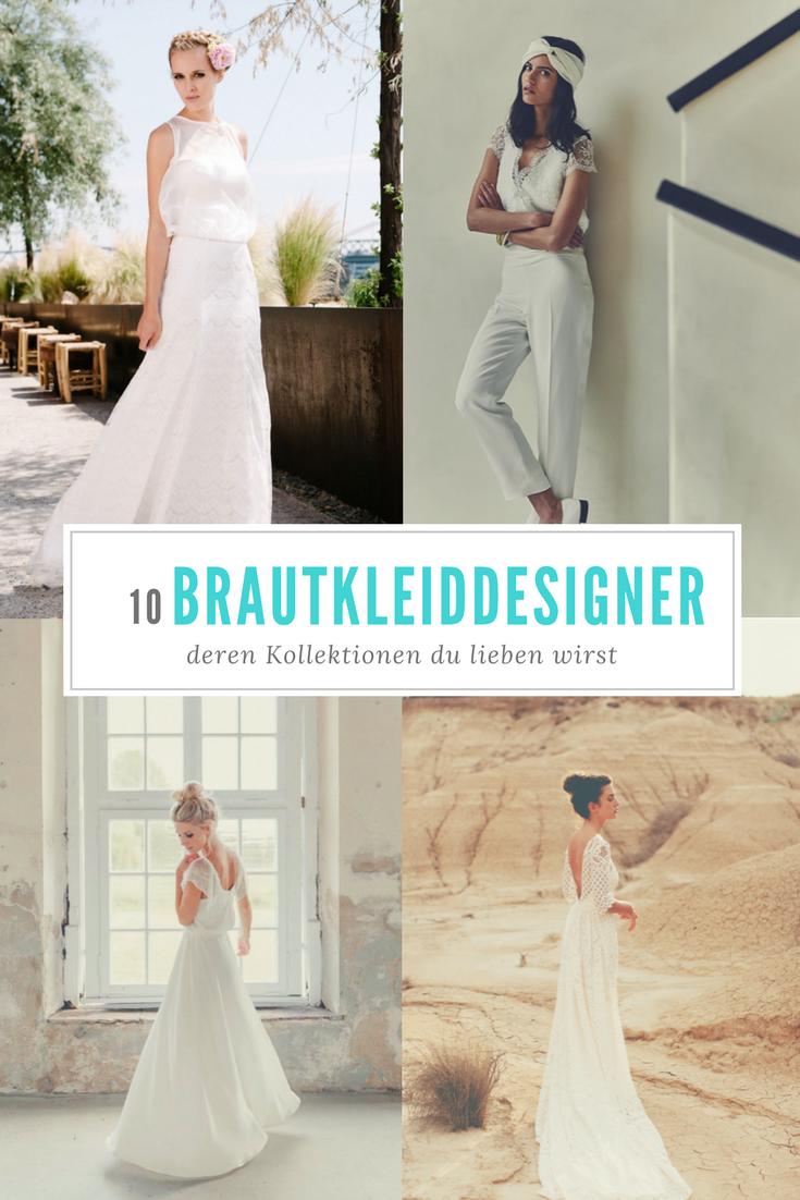 10 tolle Brautkleiddesigner