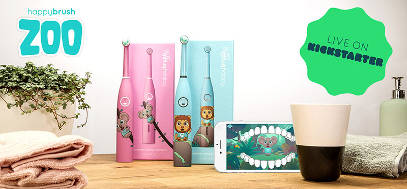 kickstarter happybrush