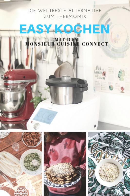 Neue Kuchenmaschine Monsieur Cuisine Plus Im Test