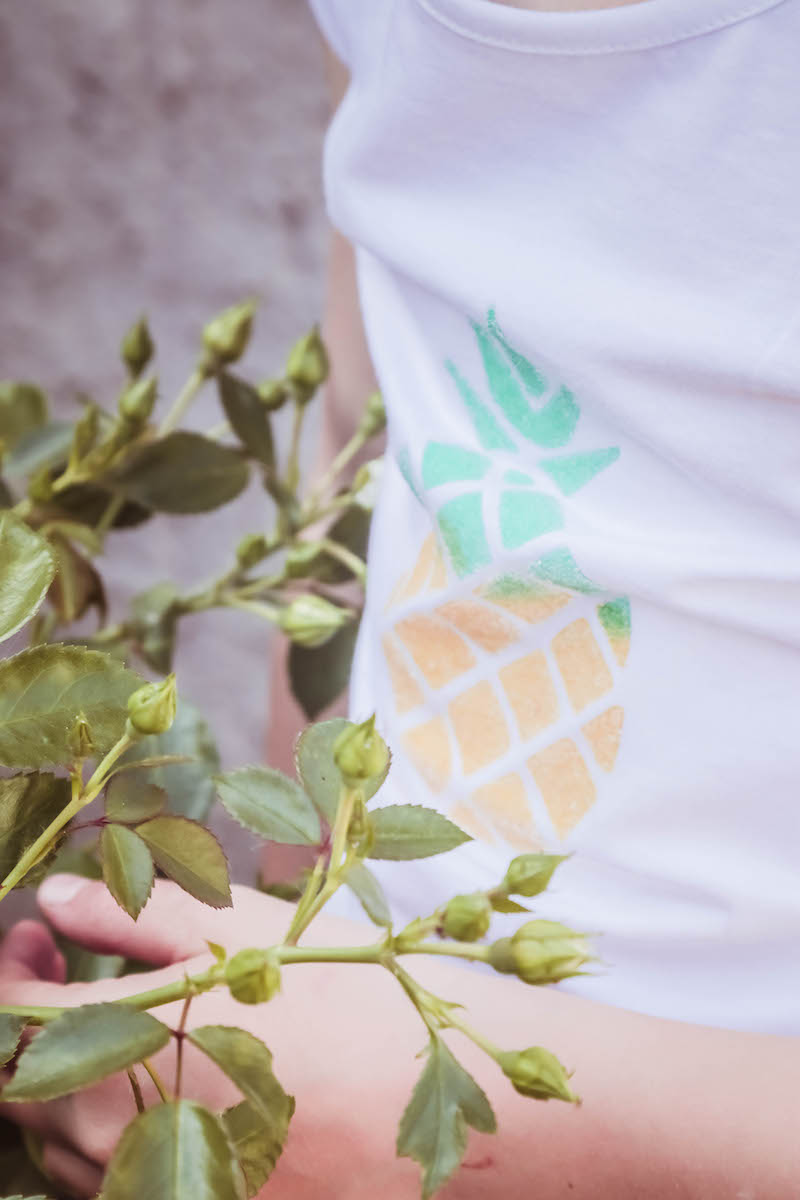 zeeman ananas shirt