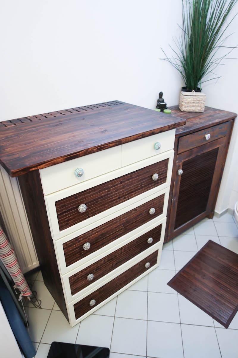 diy wickelkommode selber bauen butterflyfish. Black Bedroom Furniture Sets. Home Design Ideas
