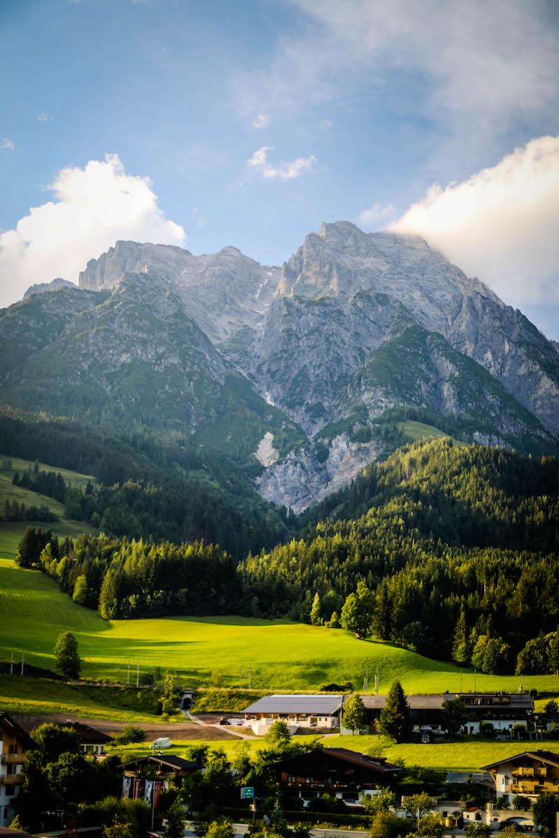 urlaub in den bergen - leogang