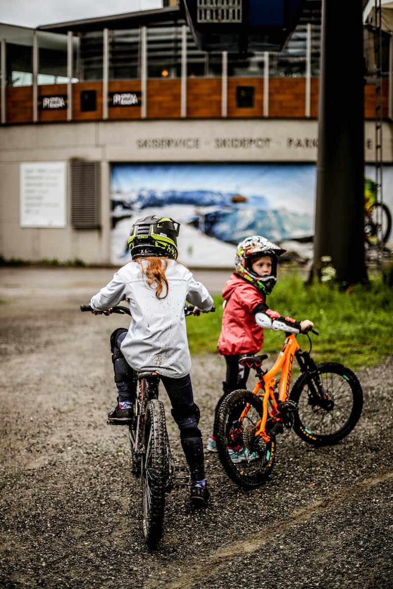 urlaub in leogang - biken lernen