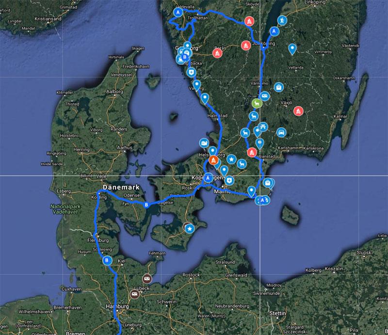 schweden reiseplan