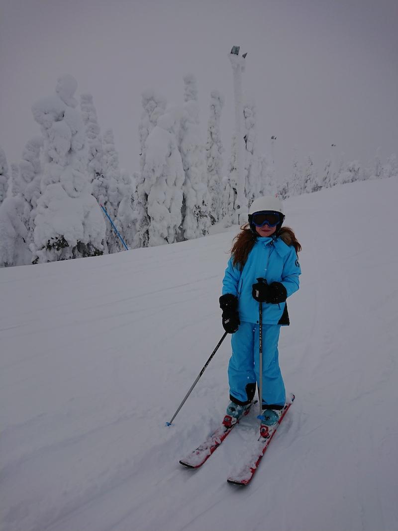 Skifahren Ruka