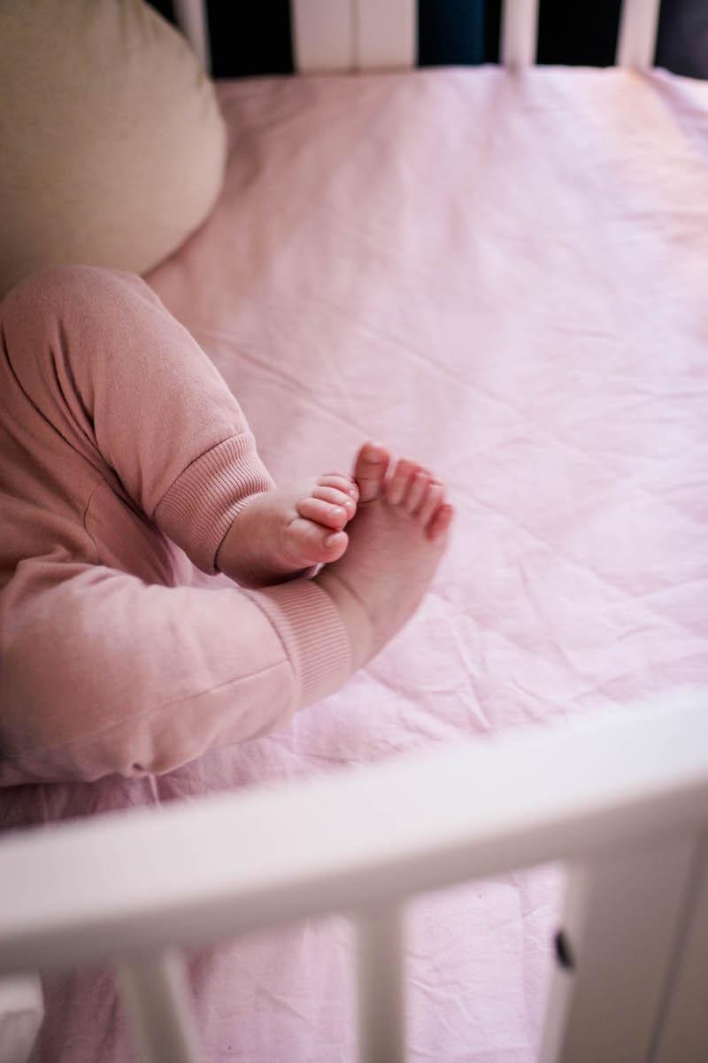 schlafen mit baby