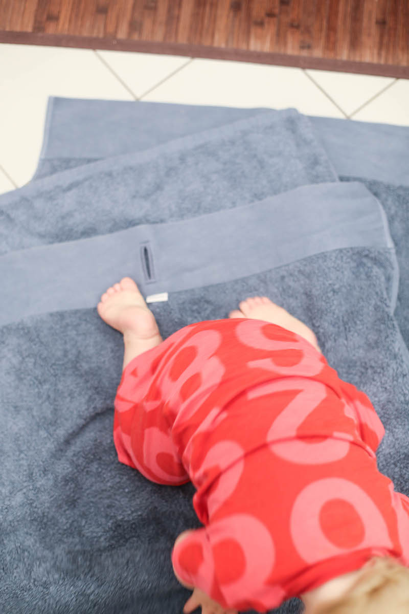 Handtücher pflegen