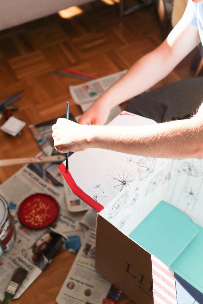 DIY Papp-Rakete